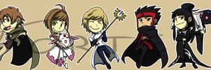 Stickers: Tsubasa Reservoir Chronicle by forte-girl7
