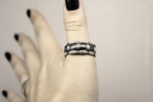 JAZZ HAND! and a manly man's ring by IMNIUM