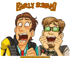 scream team by ZombiDJ