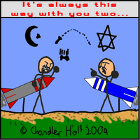 Israeli-Palestinian Conflict by Link2262