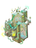 Dungeon Witch's Biome by shooshu
