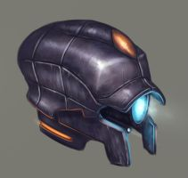 Robo-helm by MauGee13