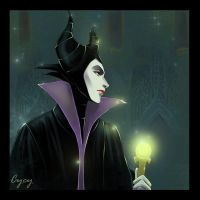 Maleficent Disney by OrenMiller