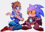 Overwatch x Sonic - Hanging out by Shira-hedgie