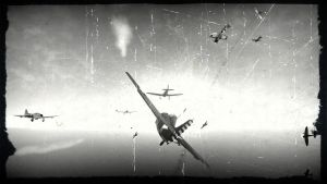 F4F Wildcats vs D3A1s and A6M2s by deupiner