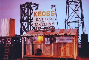 K-Bob's Taxidermy and BBQ by dennyhollandstudio