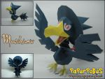 Murkrow by Toshikun