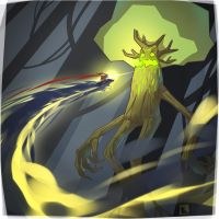 Giant tree  boss by uksusss
