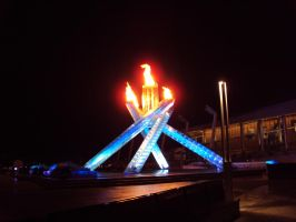 Vancouver 2010 Olympic Flame by hikari-twilight