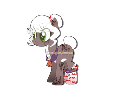 [Halloween Themed Pony] Auction (CLOSED) by BrattyGayAdopts