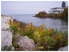 Inlet in Mackinaw City by asukouenn