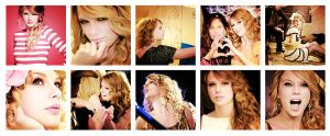 10 icons Taylor Swift by confidencelove