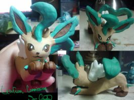 Leafeon Commission by Sara121089