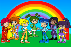 The Color Kids from Feeln's Rainbow Brite by rainbow00brite