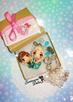 Frozen Fever Necklace by SentimentalDolliez