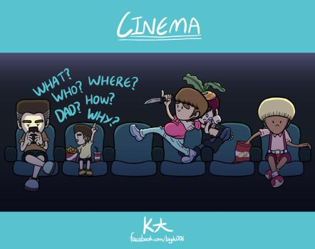 Cinema by timnolan1016