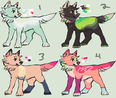 canine adopts -closed- by sleepies