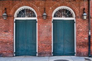 French Quarter Doorways by Ray-Devlin