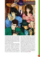Lupin the 3rd, by Domenico Alfieri by MaxDeFa
