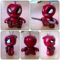Chibi deadpool by viazure