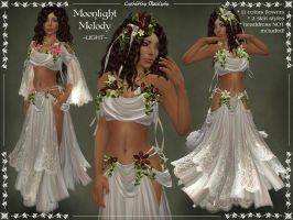 Moonlight Melody LIGHT Outfit by Elvina-Ewing