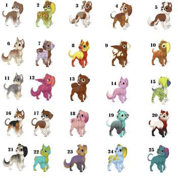 Puppy Adoptables: Set 2 CLOSED by Spirit-of-a-Wolf