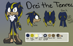 Drei Reference Sheet by WightShadoo
