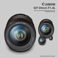 Canon EF 24mm F1.4L by madewira