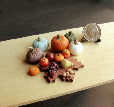 1:12 Scale Autumn Harvest by fairchildart