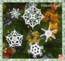Snowflakes Col. 1 by winter-fall