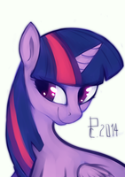 Twilight Sparkle by lengthen