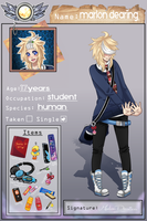 {new} gekko high academy application - Marlon by vannbun