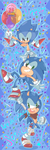 24 years of SONIC by chibiirose