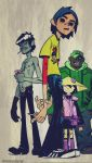 Gorillaz by Dreamcatcher-gr