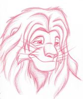 The Lion King - Adult Simba by NostalgicChills