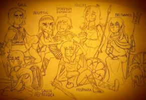 APH: Promiscua Roma by Zal001