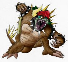 Giga Bowser by Zaclonius