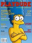 Marge Simpson Playdude by WVS1777