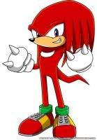 Knuckles the Echidna by Advert-man