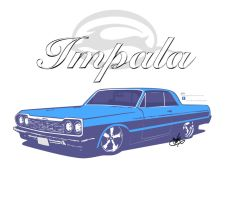 '64 Impala by Sedatgraphic2011