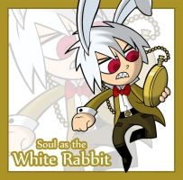 SW-Chibi: The White Rabbit by JaviDLuffy