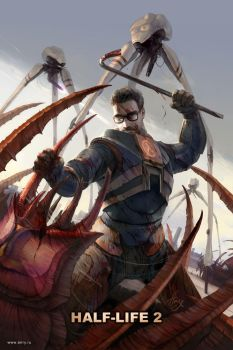Gordon Freeman by anry