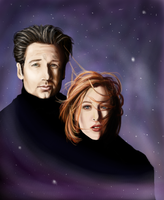 The X-Files by rosabelieve