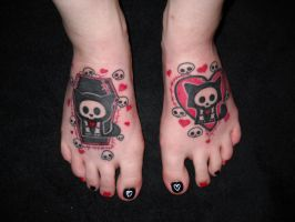 Skelanimal Tattoo by CupCakeMonsterCrafts