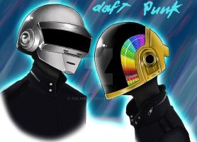 Daft Punk by yui-angel