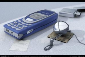 Nokia 3D Phone by cranial-bore