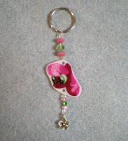 MLP Cheerilee Handmade Key Chain FOR SALE by AmyAnnie14