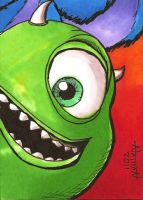 Mike Sketch Card by Fellhauer