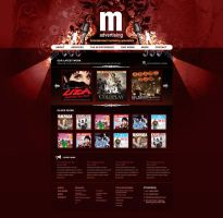 M Advertising Projects Page by scottrichardson