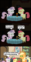 Ask Honest Applejack 31 by bronybyexception